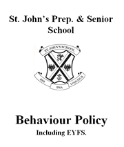 Behaviour & Discipline Policy