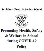 Health Safety and Welfare policy during Covid19