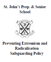 Preventing Extremism & Radicalisation Safeguarding Policy