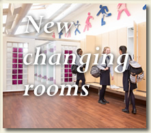 new luxury chnaging rooms